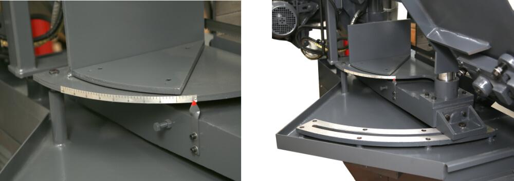 Двухколонная горизонтальная ленточная пила Metal Master MGH-400Z