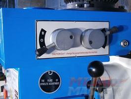 ручки переключения скоростей сверлильно-фрезерного станка MetalMaster DMM 50C