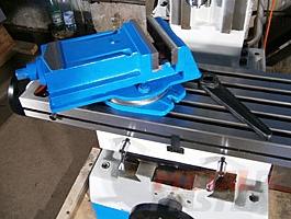 настольные тиски сверлильно-фрезерного станка MetalMaster DMM 50C
