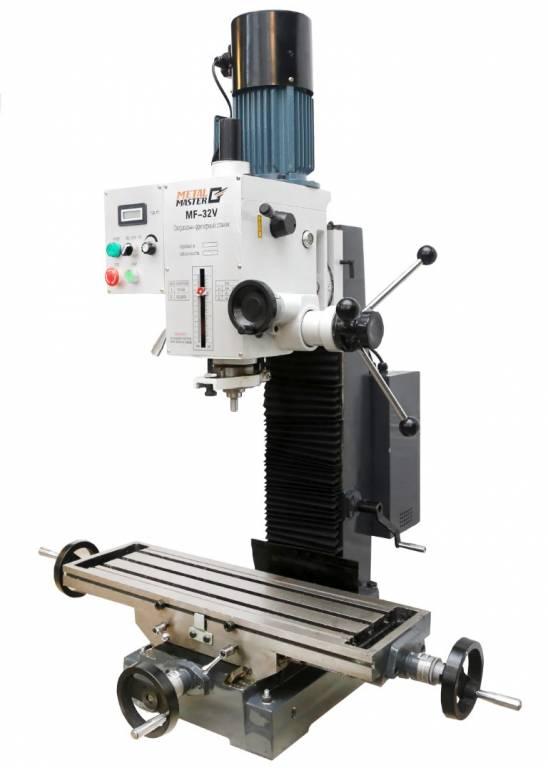Станок представляет собой массивную жесткую конструкцию, состоящую из подвижной фрезерной головки, направляющих, подвижного рабочего стола.